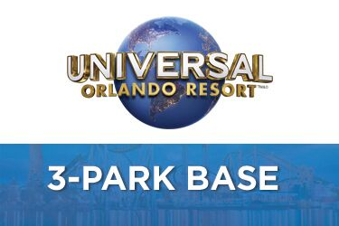 Universal Orlando 3-Park 4-Day Base Ticket