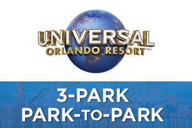 Universal Orlando 3-Park 5-Day Park-to-Park