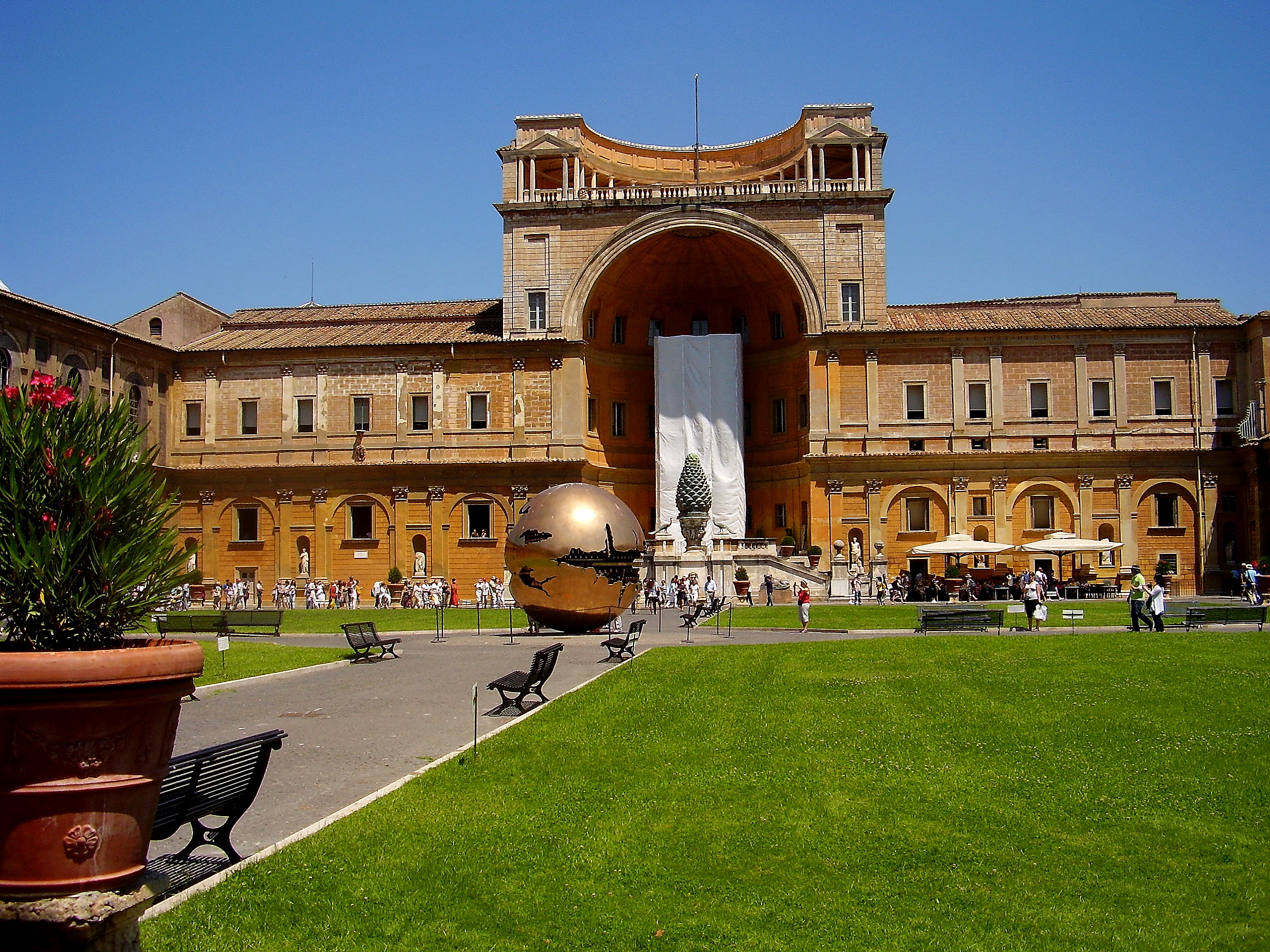 Product No Wait Access: Vatican Museums, Bramante Staircase,Sistine Chapel, Pinacoteca & St. Peters