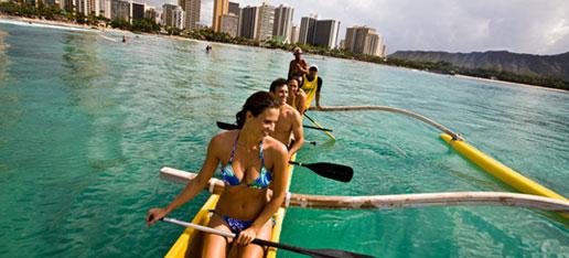 Double Hull Canoe Paddling Tour image 1