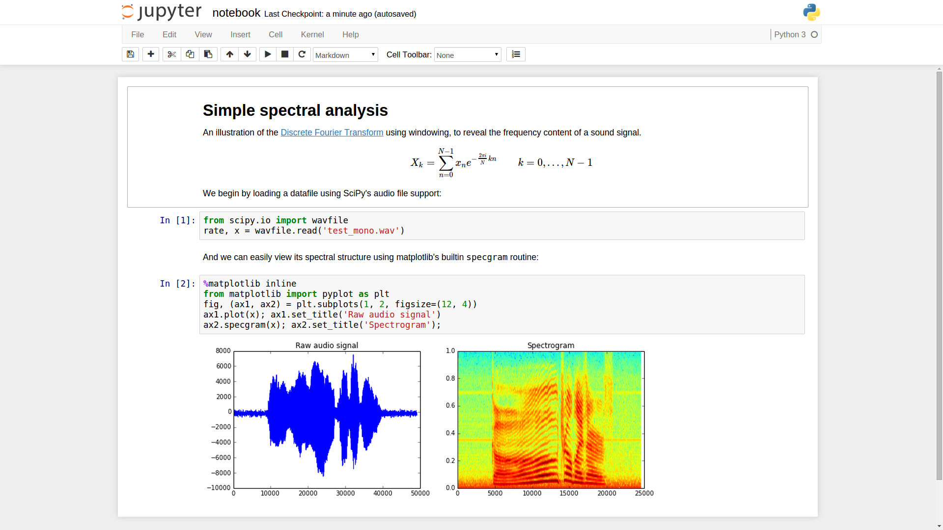 IPython Notebook