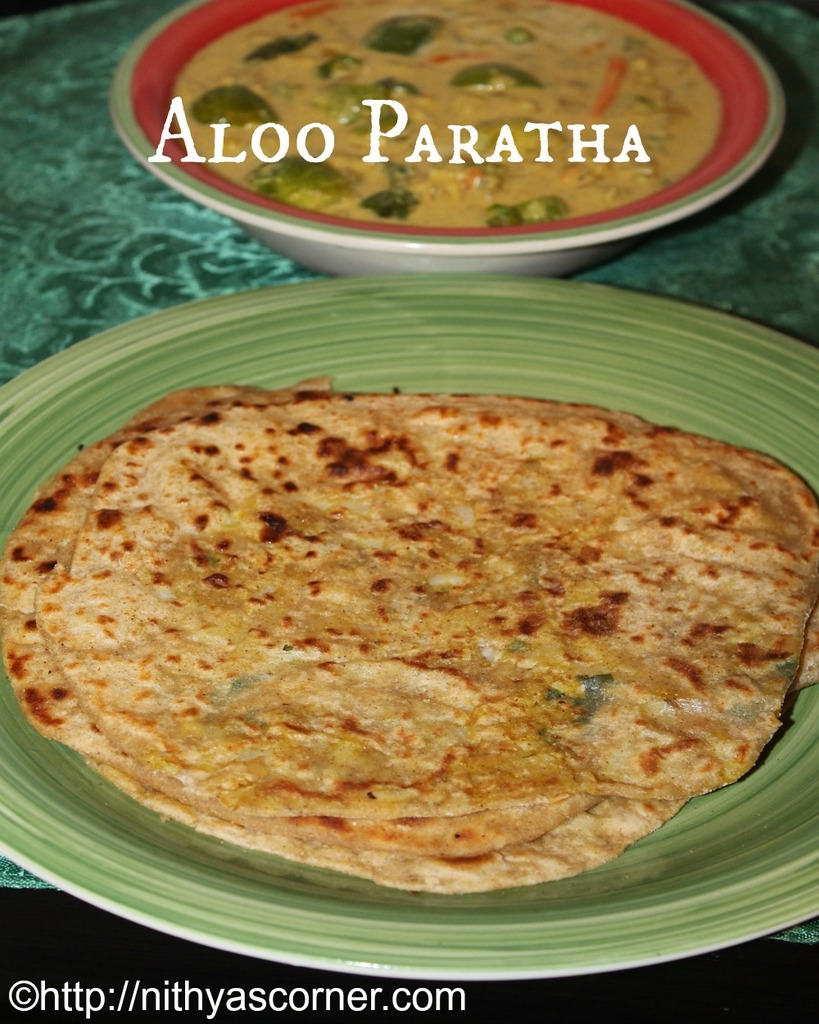 how to prepare aloo paratha