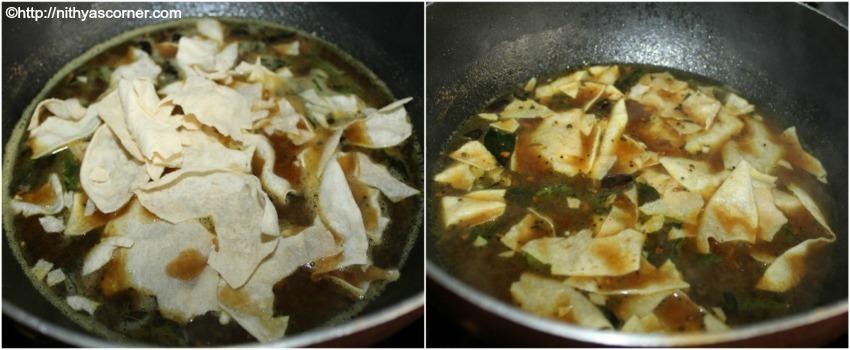 Appalam Kuzhambu Recipe, Papad Kuzhambu
