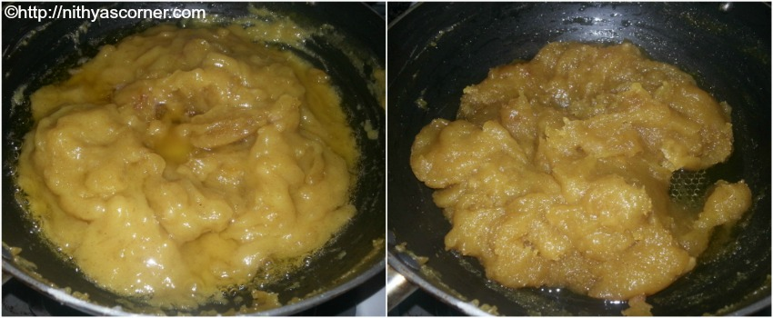 simple and easy wheat halwa