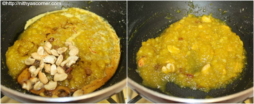 poha kesari with step by step pictures