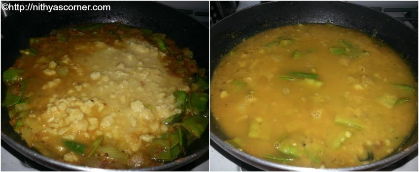 simple and easy avarakkai sambar recipe