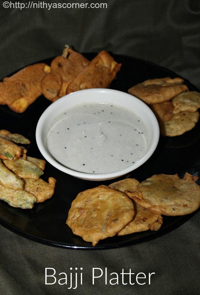 Bajji Platter, Bhajji Platter