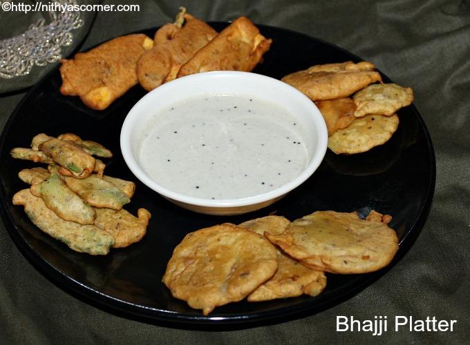 Bajji Platter,Bhajji Platter