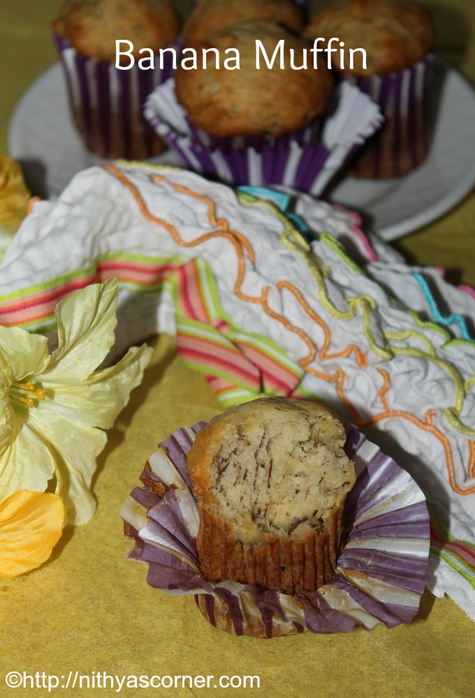 How to make banana muffins recipe