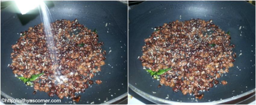 how to make karuppu mookadalai sundal