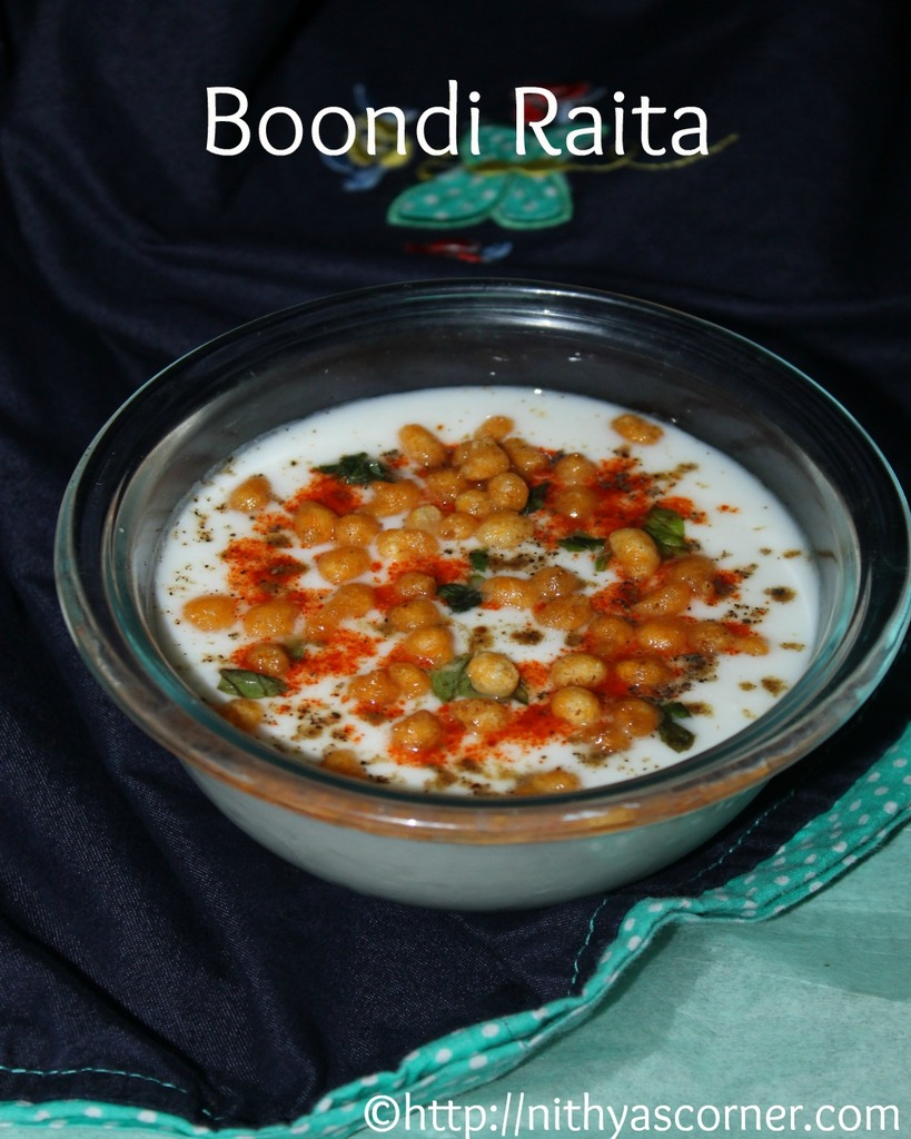 How to make Boondi Raita, Boondi Raita Recipe