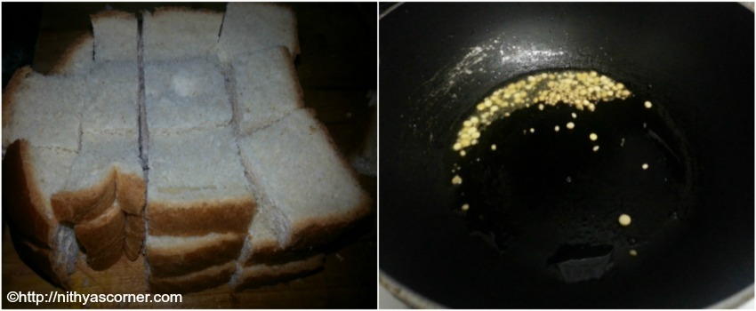 Bread Upma, How to make Bread Upma