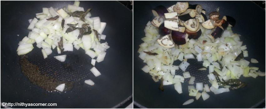 Brinjal sambar recipe, kathrikkai sambar recipe