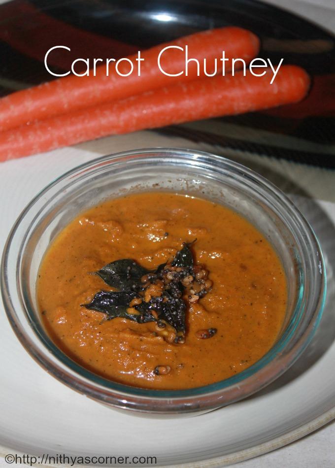 How to make carrot chutney