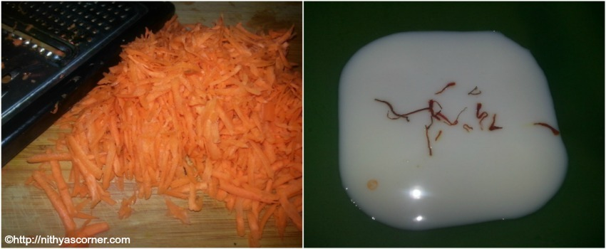 Carrot Kheer,Carrot Payasam