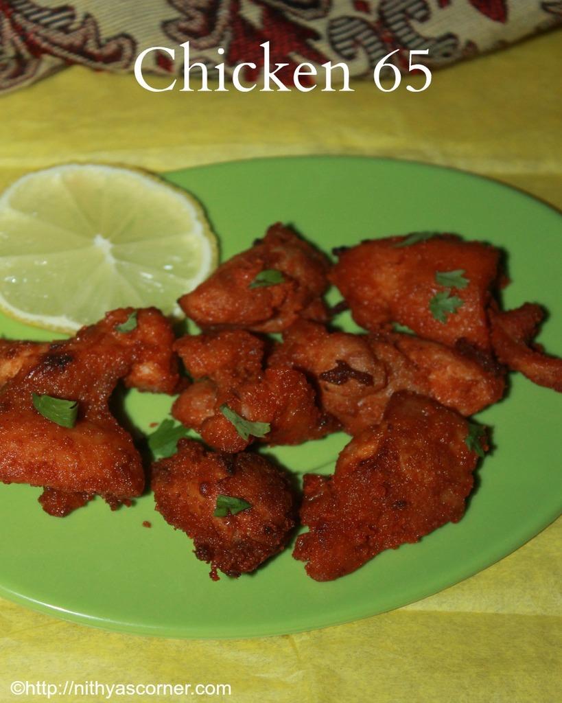 Chicken 65 Recipe, Restaurant Style Chicken 65, South Indian Chicken Fry