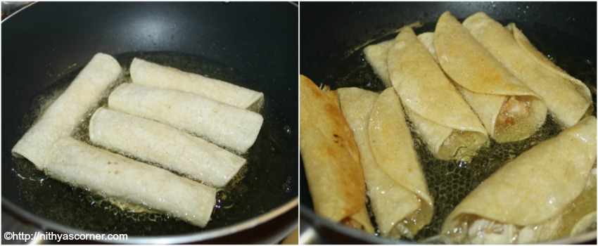 Chicken taquitos recipe with stepwise pictures