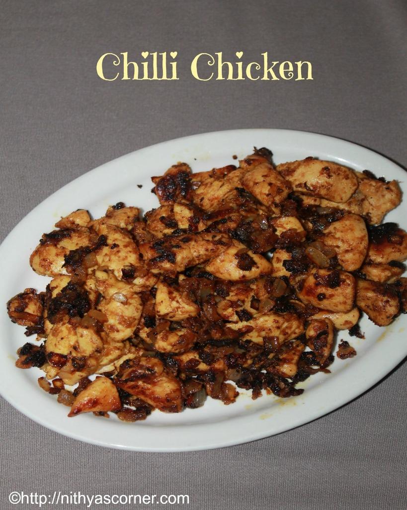 Chilli Chicken Recipe South Indian Chilli Chicken Recipe