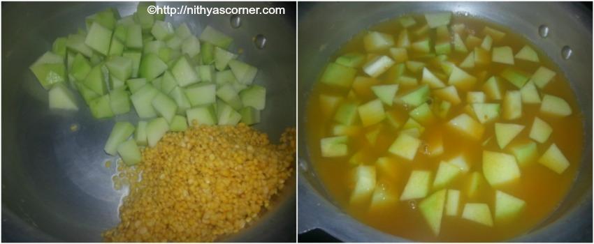 chow chow kootu brahmin style