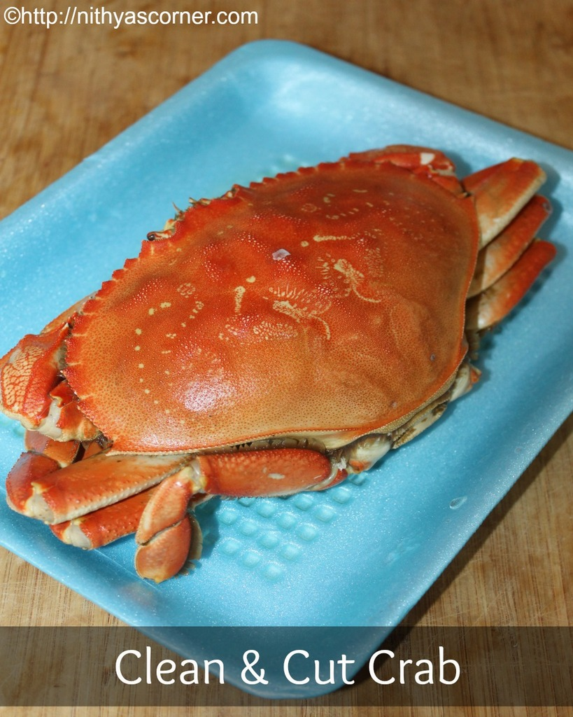 How to clean and cut crabs