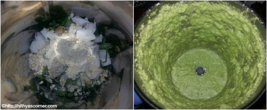 how to make coriander coconut chutney