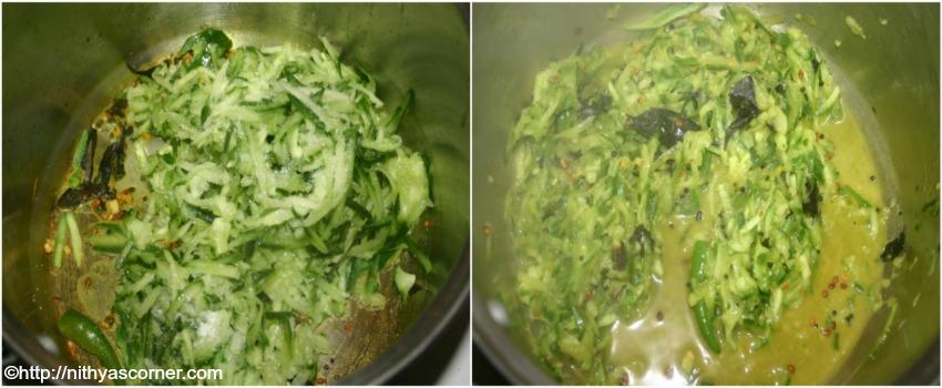 simple and easy vellarikai sadam recipe with pictures