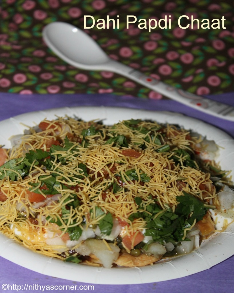 Papri Chaat Recipe with Step by Step Photos