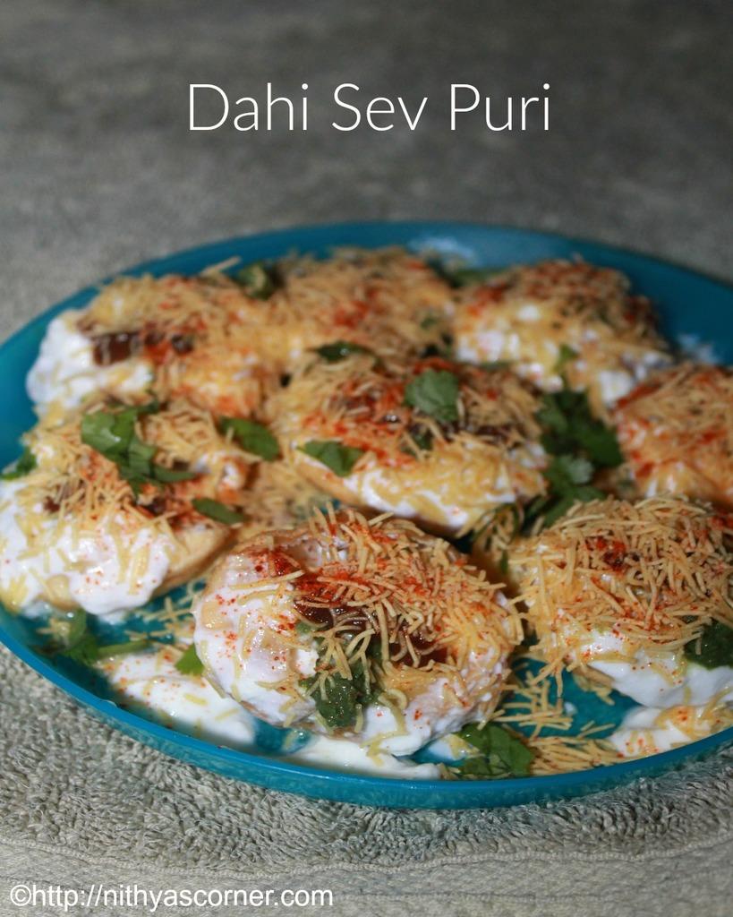Dahi Puri Chaat Recipe