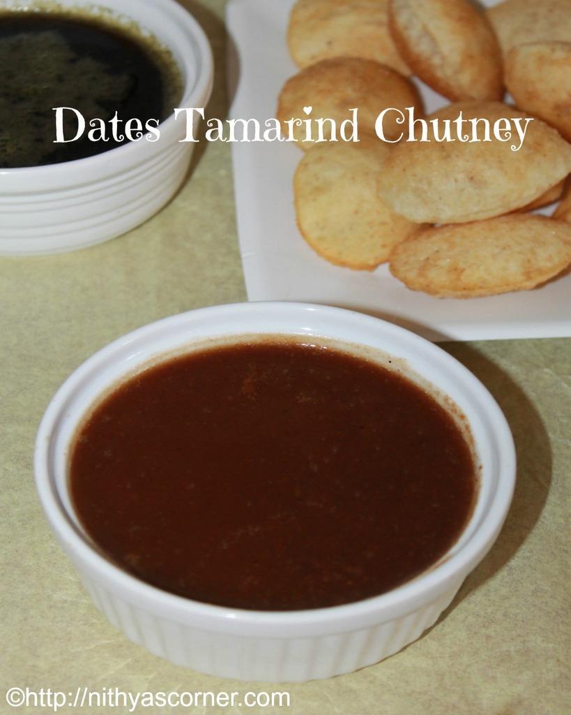 how to make sweet date tamarind chutney