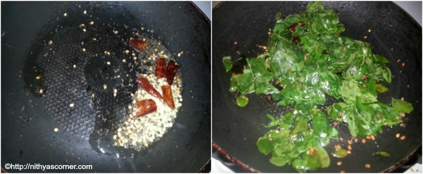 Drumstick leaves eggs stir fry recipe,murungai keerai muttai poriyal