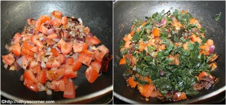 Murungai Keerai Sambar Recipe,Drumstick Leaves Sambar