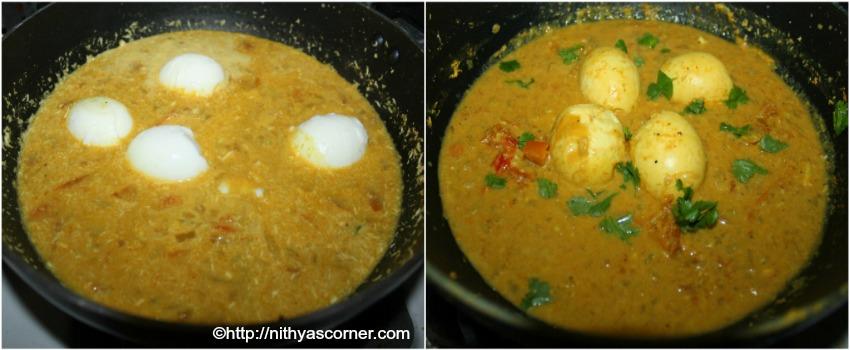 egg kuzhambu south indian style