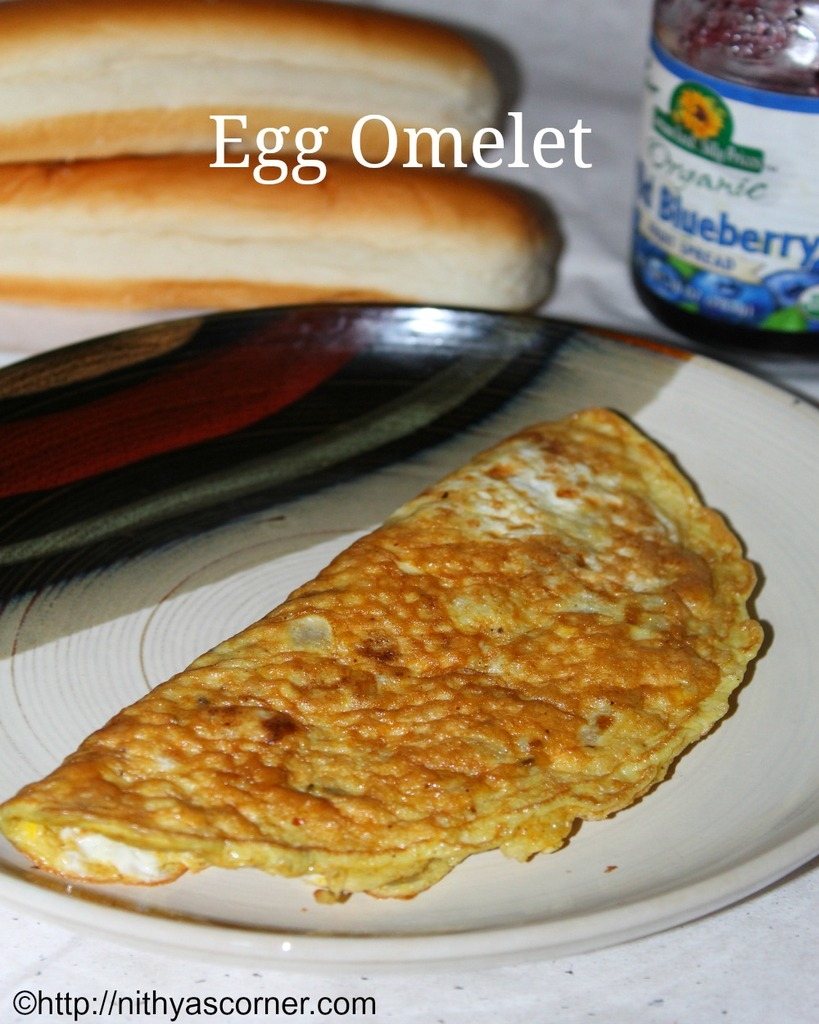simple and easy egg omelet recipe
