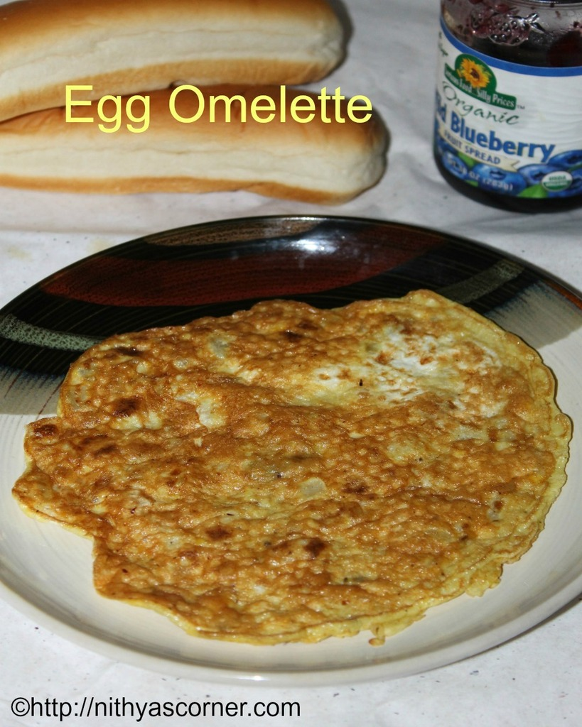 simple and easy egg omelette recipe