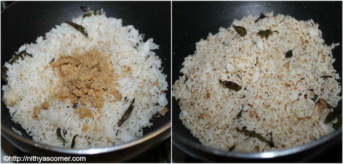 Ellu sadam recipe, Til rice, Sesame rice recipe