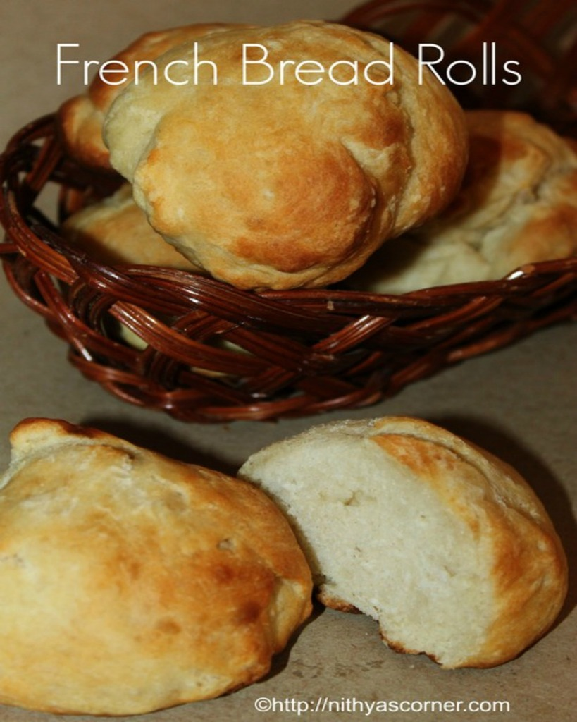 how to make french bread roll recipe