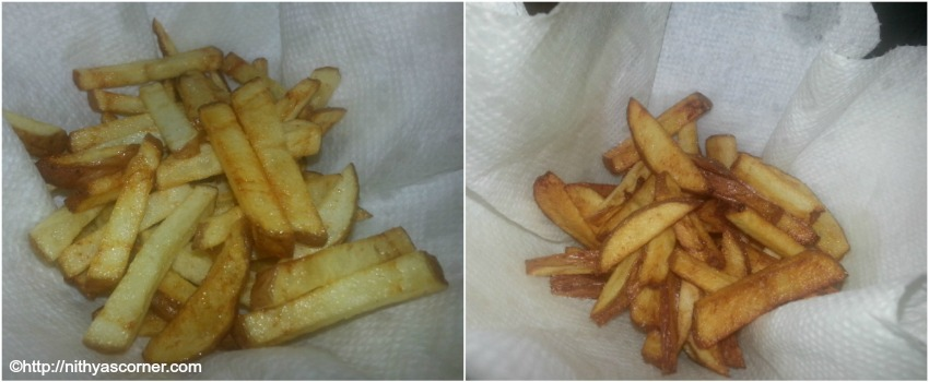French fries recipe, easy and crispy french fries recipe