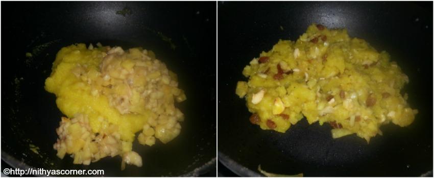 fruit kesari recipe preparation