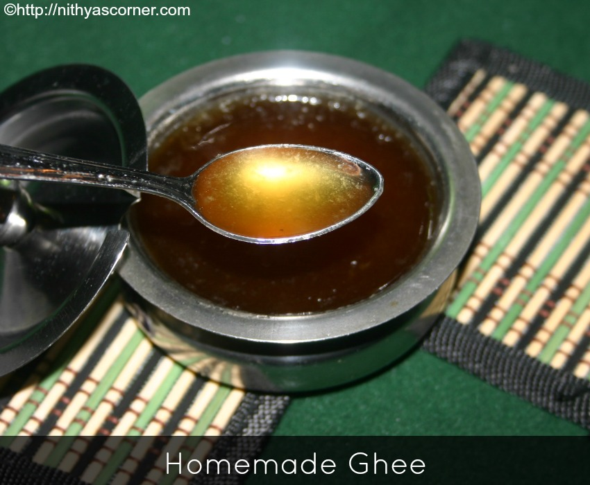 How to make ghee from butter at home, Ghee recipe unsalted butter