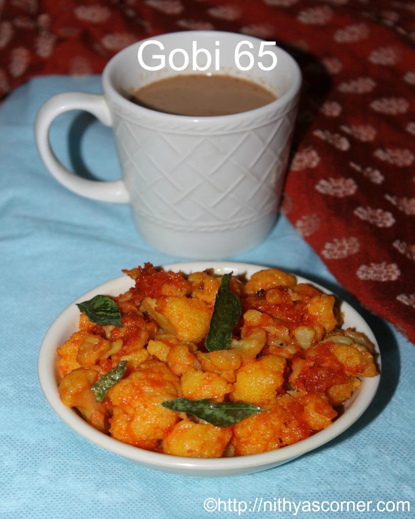 how to make gobi 65 recipe