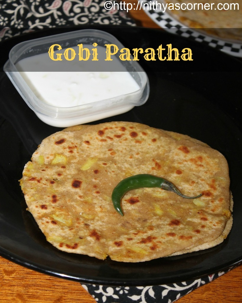 gobi paratha,how to make gobi paratha recipe,punjabi gobi paratha