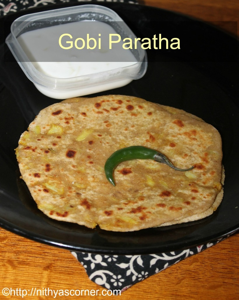 how to make punjabi gobi paratha