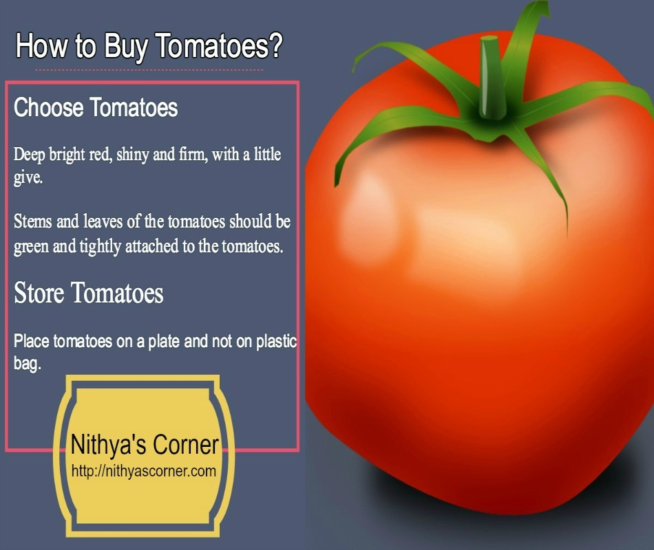 How to Buy and Store Fresh Tomatoes