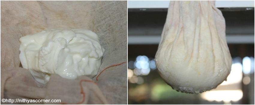 Hung Curd or hung yogurt Recipe,how to make hung dahi or hung curd
