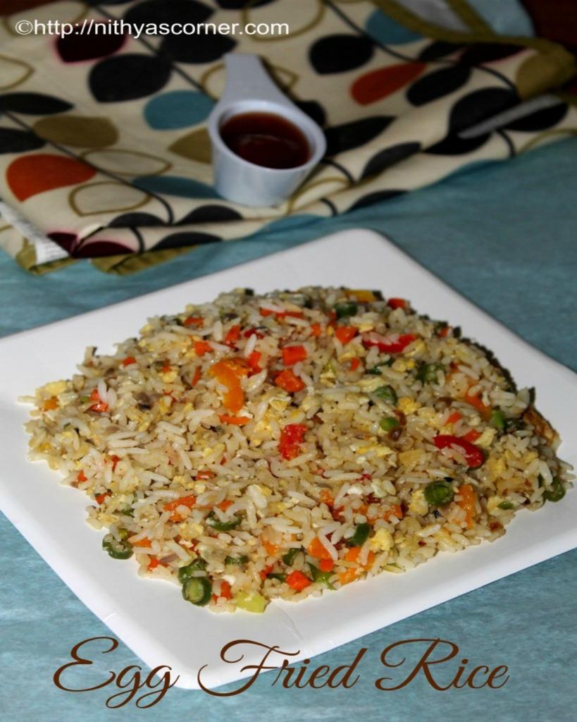 Egg fried rice recipe, How to make egg fried rice