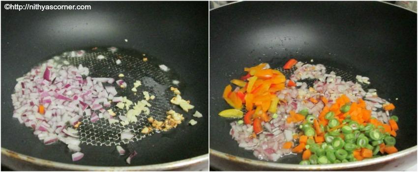 Egg Fried Rice,Restaurant style Egg Fried Rice