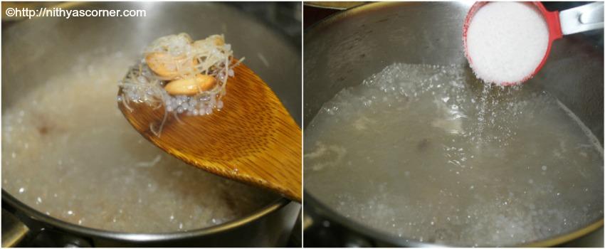 simple and easy vermicelli sabudana kheer recipe,Vermicelli sago kheer recipe