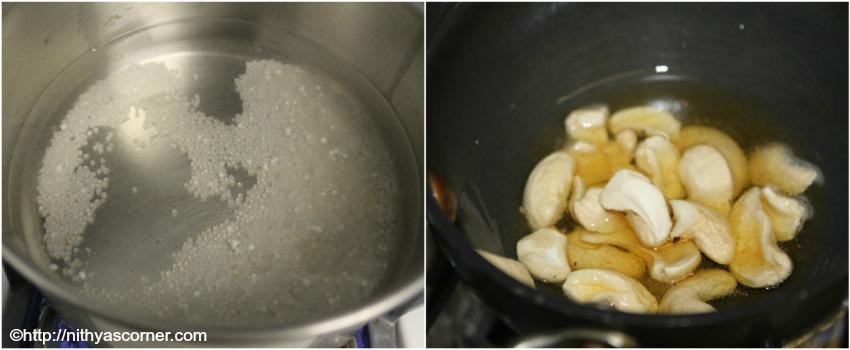 simple and easy vermicelli sago kheer, Vermicelli sago kheer recipe