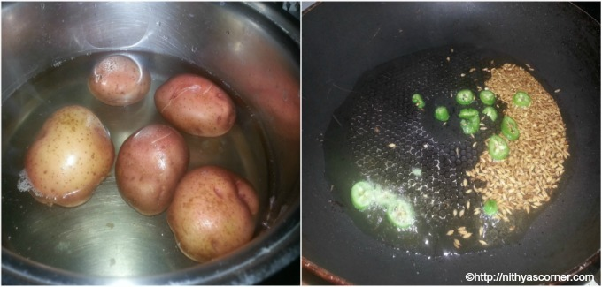 How to make jeera aloo