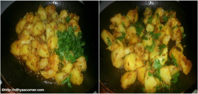 Jeera aloo recipe with stepwise pictures